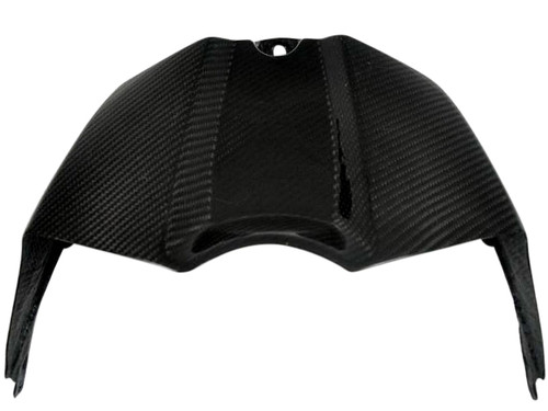 Glossy Twill Weave Carbon Fiber Tank Cover for Yamaha R1 09-14