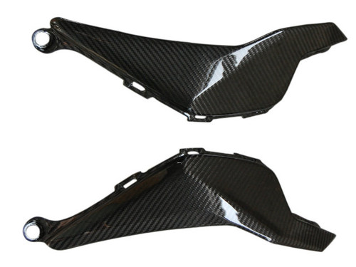 Glossy Twill Weave Carbon Fiber Side Tank Covers for Honda CBR 1000RR 12-16