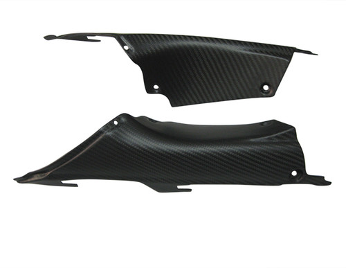 Matte Twill Weave Carbon Fiber Airtake Covers for Honda CBR 1000RR 12-16