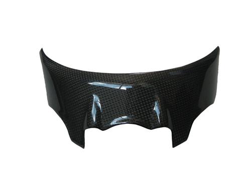 Glossy Plain Weave Carbon Fiber Headlight Cover for Ducati Monster 696/796/1100 & Evo