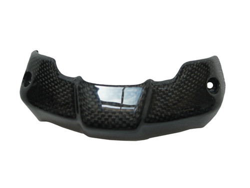 Glossy Plain Weave Carbon Fiber Instrument Cover for Ducati Monster 696/796/1100