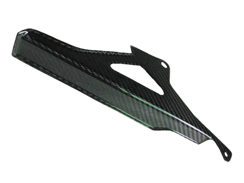 Glossy Twill Weave Upper Chain Guard for Aprilia RSV4 2009+, Tuono 2011+
