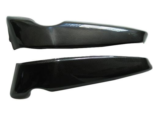 Glossy Plain Weave Carbon Fiber Radiator covers for Harley-Davidson V-Rod VRSC A-B-D-SE