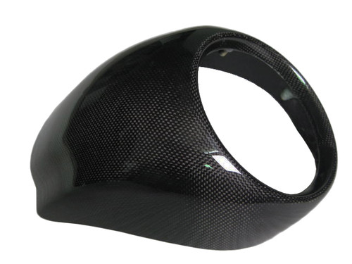 Glossy Plain Weave Carbon Fiber  Front Fairing for Harley-Davidson V-Rod VRSC A-B-R-D-SE to 2011