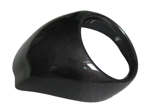 Glossy Plain Weave Carbon Fiber Front Fairing for Harley-Davidson V-Rod VRSC A-B-R-D-SE to 2011