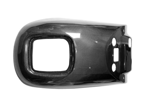 Rear Fender in Glossy Plain Weave Carbon Fiber for Harley-Davidson V-Rod VRSC A-B-R-D-SE 2008-2011