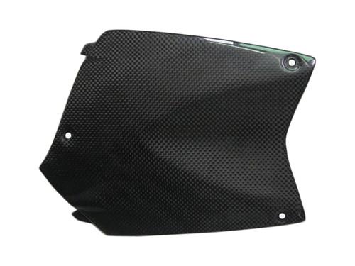 Glossy Plain Weave Carbon Fiber Upper Tank Cover for BMW K1200R, K1300R