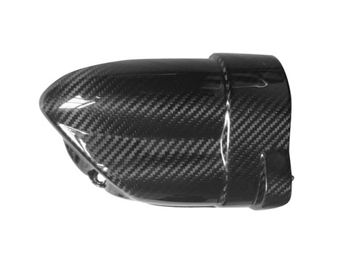 Engine Starter Cover for BMW R 1200 GS & ADVENTURE 04-12 in Glossy Plain Weave Carbon Fiber