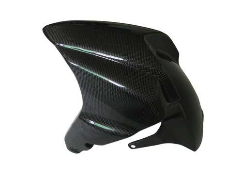 Glossy Plain Weave Carbon Fiber Front Fender for Suzuki B-King 07-12