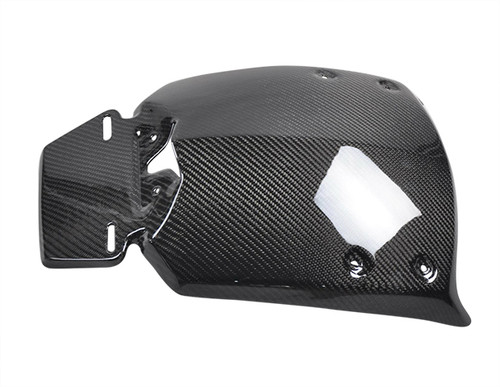 Glossy Twill Weave Rear Wheel Hugger for Can-Am Spyder RS, ST, RT