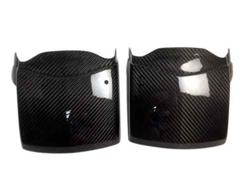 Light covers in Glossy Twill Weave  Carbon Fiber for Can-Am Spyder RS