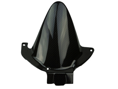 Rear Hugger in Glossy Plain Weave Carbon with Fiberglass for Honda CBR 600RR 05-16