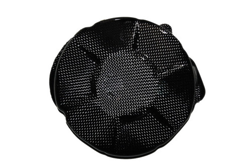 Alternator Cover in Glossy Plain Weave Carbon Fiber for Honda CBR 600RR 07-12