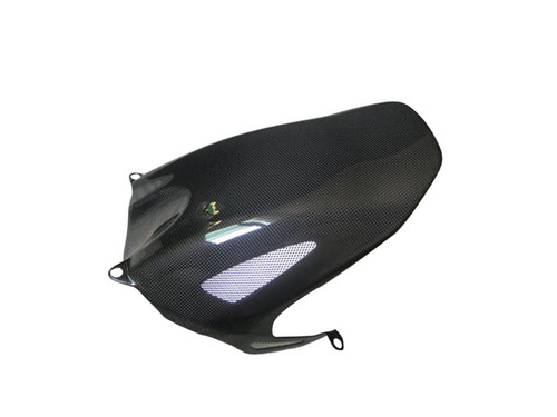 Glossy Plain Weave Carbon Fiber Rear Hugger with Racing Mesh for Honda CBR 1000RR 08-11