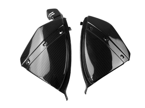 Under Tank Panels in Glossy Twill Weave Carbon Fiber for Honda CB1000R 08-17