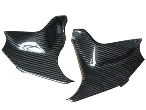 Tank Cover in Glossy Twill Weave Carbon Fiber for BMW F800GS