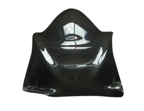 Glossy Plain Weave Carbon Fiber Small Rear Fender for Ducati 749, 999