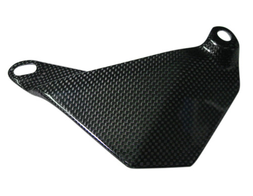 Glossy Plain Weave Carbon Fiber Bottom Chain Guard for Aprilia Aprilia RSV Mille 98-03, Tuono 02-05