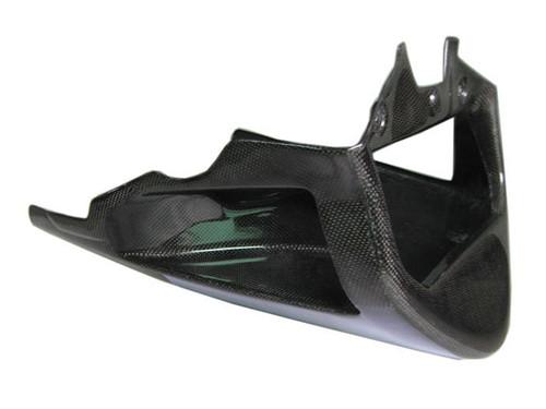 Glossy Plain Weave Carbon Fiber Belly Pan for Aprilia RSV Tuono 02-05