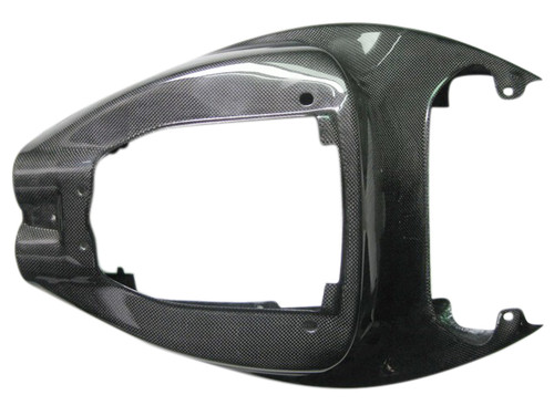 Glossy Plain Weave Carbon Fiber Seat Section for Aprilia RSV Tuono 02-05
