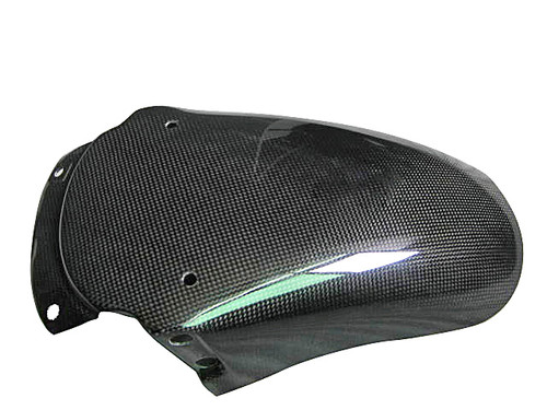 Glossy Plain Weave Carbon Fiber Fender Rear Section for Triumph Sprint St  05-09