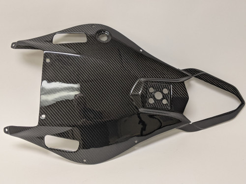 Undertray in 100% Carbon Fiber for Yamaha R6 06-07