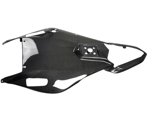 Glossy Plain Weave Carbon Fiber Undertray for Yamaha R6 06-07