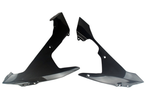 Lower Fairing Panels in Glossy Plain Weave Carbon Fiber for Yamaha R1 07-08