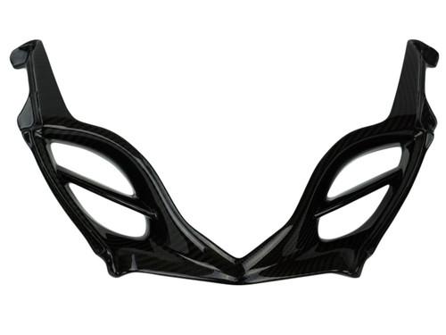 Glossy Twill Weave Carbon Fiber Front Fairing for Suzuki GSXR 1000 09-16