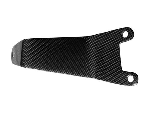 Glossy Plain Weave Carbon Fiber Exhaust Hanger for Suzuki GSXR 1000 05-06