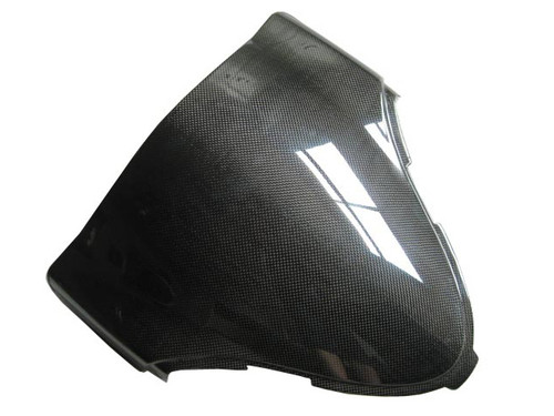 Glossy Plain Weave Carbon Fiber  Windshield for Suzuki GSX1300 R  Hayabusa 99-07