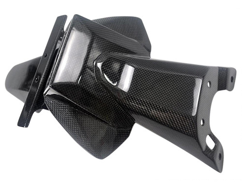 Glossy Plain Weave Carbon Fiber Undertray for Suzuki  GSXR 600, GSXR 750  2011-2019