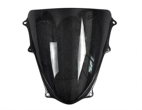 Glossy Plain Weave Carbon Fiber  Windscreen for Suzuki GSXR 600, GSXR 750  2008-2010