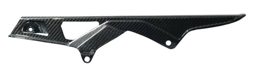 Glossy Twill Weave Carbon Fiber  Chain Guard for Suzuki  GSXR 600, GSXR 750  2006-2010