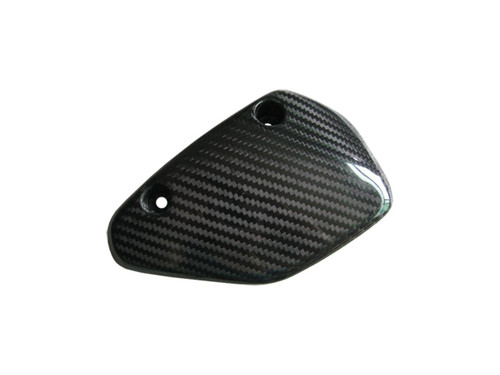 Glossy Twill Weave Carbon Fiber  Lower Chain Guard for Ducati Hypermotard 1100