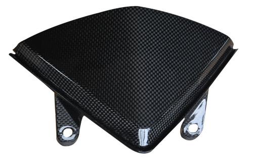 Windshield in Glossy Plain Weave Carbon Fiber for Ducati Hyperstrada, Hypermotard 821 2013-2015, 939 2016-2018
