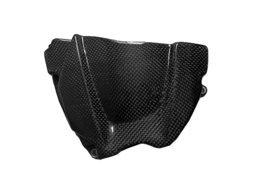 Glossy Plain Weave Carbon Fiber  Sprocket Cover for Yamaha R1 02-03