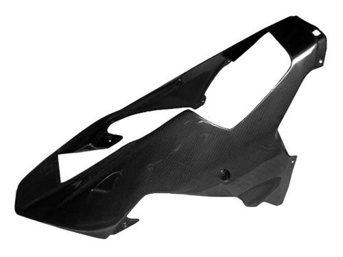 Glossy Plain Weave Carbon Fiber  Lower Fairing for Yamaha R1 02-03