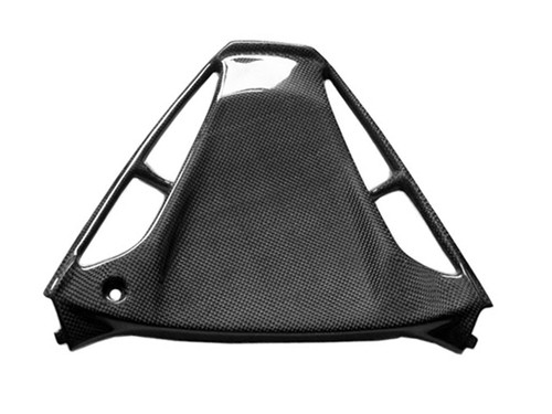 Glossy Plain Weave Carbon Fiber  Triangular Fairing for Yamaha R1 02-03