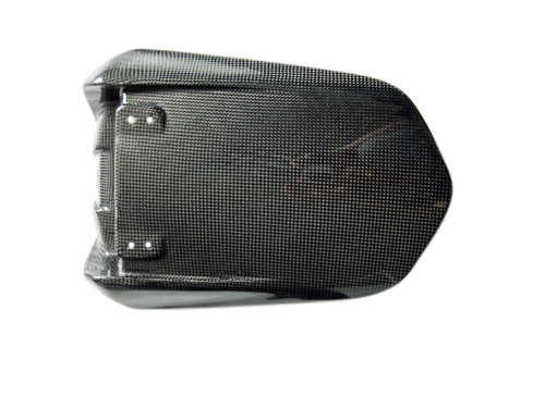Glossy Plain Weave Carbon Fiber Seat Cover for Yamaha R1 04-06
