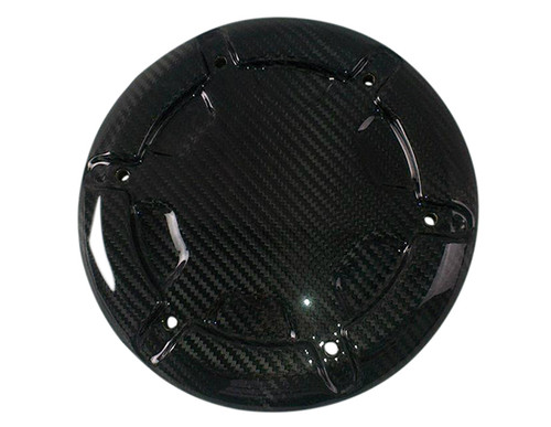 Glossy Twill Weave Carbon Fiber  Alternator Cover for Yamaha Vmax 1700 2009-2016