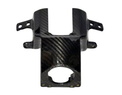 Key Guard for Yamaha Vmax 1700 2009-2016 in Glossy Twill Weave Carbon Fiber