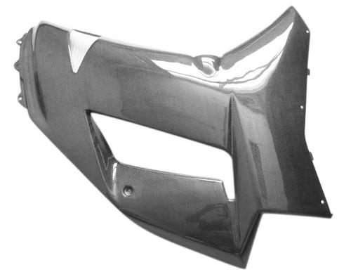 Glossy Plain Weave  Side Panels  for Kawasaki ZX6R 07-08