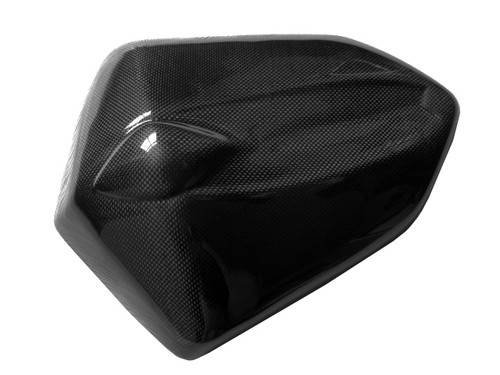 Glossy Plain Weave Carbon Fiber  Seat Cover for Kawasaki Z1000 07-09