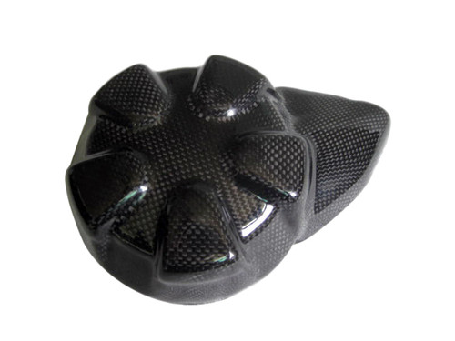 Glossy Plain Weave Carbon Fiber  Alternator for Kawasaki Z1000 07-09