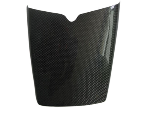 Rear Seat Cowl for Triumph Daytona 675 06-12 in Glossy Plain Weave Carbon Fiber