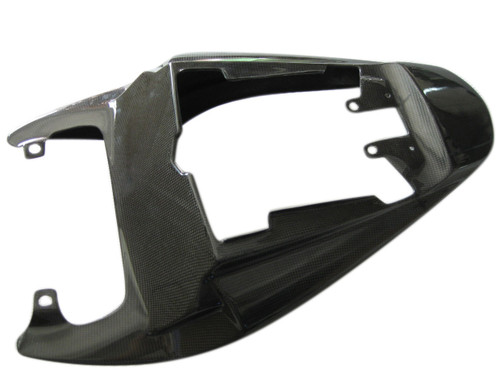 Seat Section for Triumph Daytona 675 06-12 in Glossy Plain Weave Carbon Fiber
