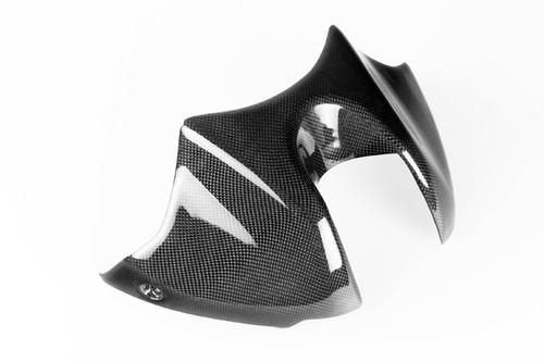 Tank Cover for Kawasaki Z1000 2010-2013 in Glossy Plain Weave Carbon Fiber