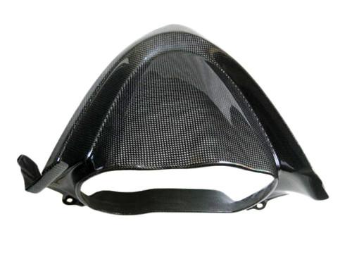 Glossy Plain Weave Carbon Fiber Cockpit Cover for Kawasaki ER-6F  2006-2008
