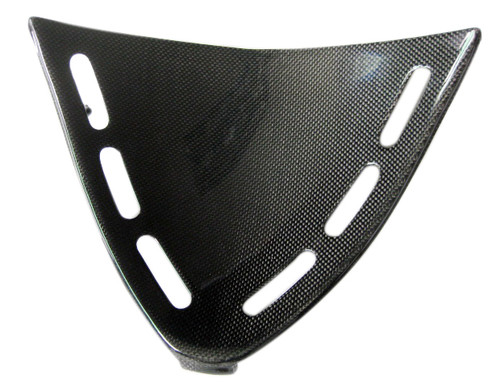 Glossy Plain Weave Carbon Fiber Triangle Fairing for Kawasaki ZX12R 02-06